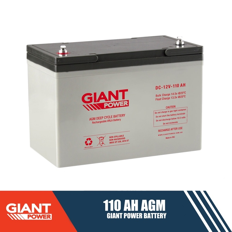 110ah 12v Agm Deep Cycle Battery 100ah Deep Cycle