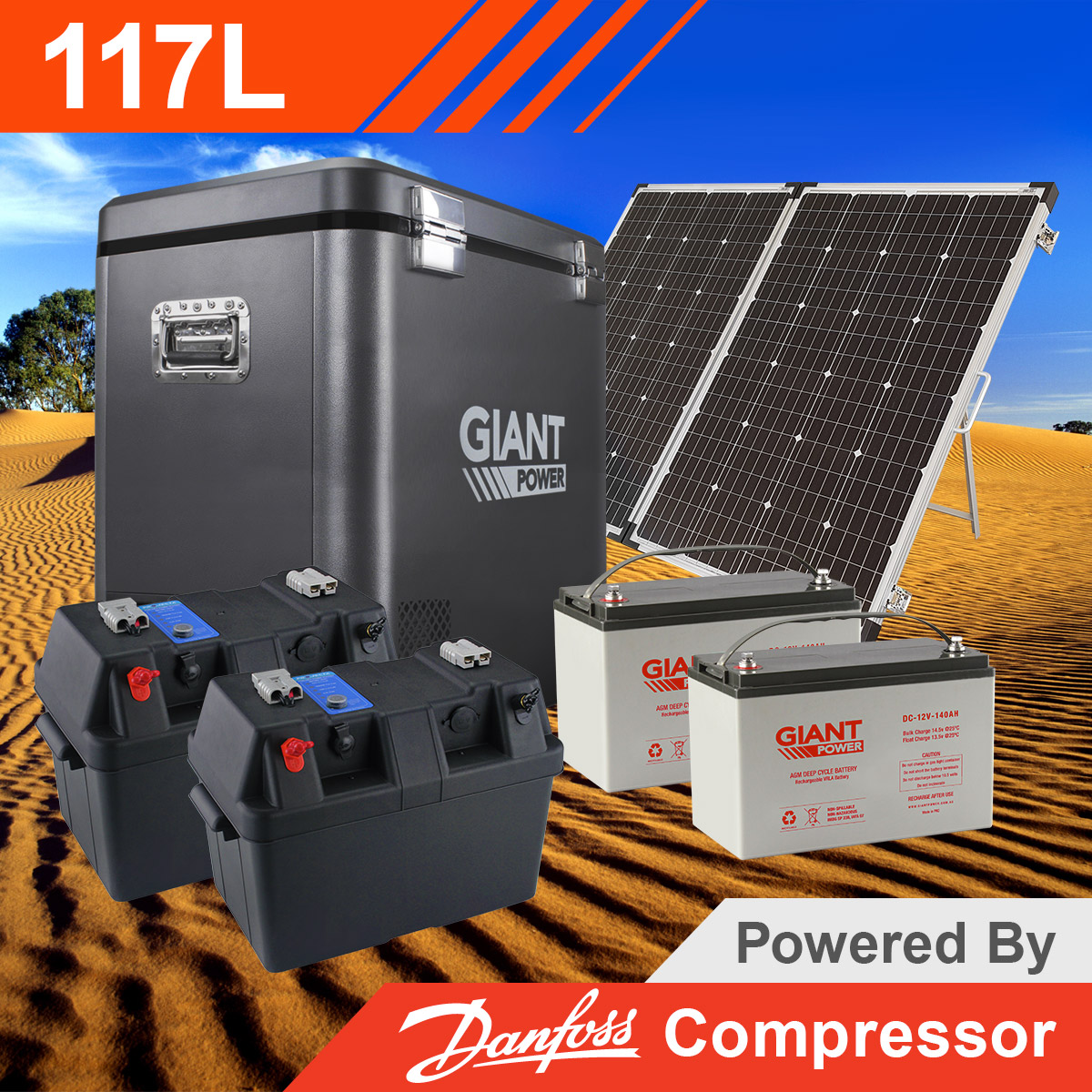 Complete Solar Kits For Camping Fridges Portable Fridges