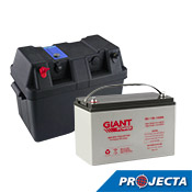 Giant Power 130AH Battery and Powered Box