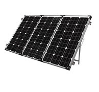 195W Portable Solar Panel with Kyocera Japanese Cells