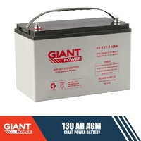 130AH 12V AGM Deep Cycle Battery
