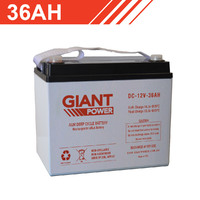 36AH 12V AGM Deep Cycle Battery
