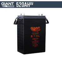 520AH 6V AGM Deep Cycle Battery