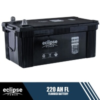 220AH 12V Eclipse Flooded Deep Cycle Battery
