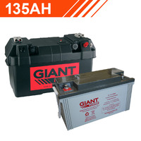 135AH 12V Deep Cycle AGM Powered Battery Box Combo