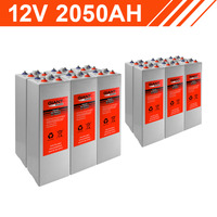 24.6kWh 12V 2050AH Tubular Gel Battery Bank (2V cells)