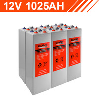 12.3kWh 12V 1025AH Tubular Gel Battery Bank (2V cells)