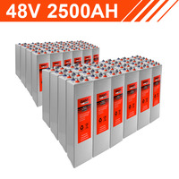 120.0kWh 48V 2500AH Tubular Gel Battery Bank (2V cells)