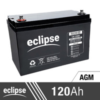 120AH 12V Eclipse AGM Deep Cycle Battery
