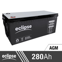 280AH 12V Eclipse AGM Deep Cycle Battery