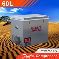 Giant Power 60L Portable Fridge/Freezer