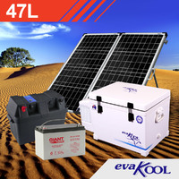 EvaKool 47L Complete Solar Fridge Kit