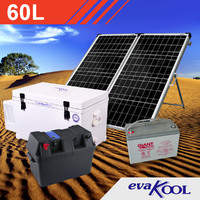 EvaKool 60L Complete Solar Fridge Kit