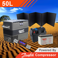 Giant Power 50L Complete Solar Fridge Kit - Travel Series