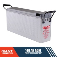 140AH 12V AGM Deep Cycle Front Terminal Battery