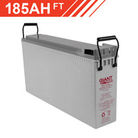 185AH 12V AGM Deep Cycle Front Terminal Battery