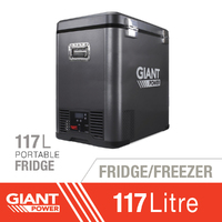 Giant Power 117L Portable Fridge/Freezer