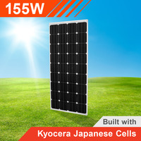 155W Solar Panel with Kyocera Japanese Cells