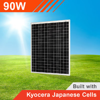 90W Solar Panel with Kyocera Japanese Cells