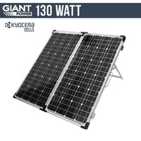 130w 12v Portable Solar Panel with Kyocera Japanese Cells