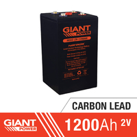 1200AH 2V Carbon Lead Battery