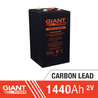 1440AH 2V Carbon Lead Battery