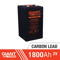 1800AH 2V Carbon Lead Battery