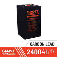 2400AH 2V Carbon Lead Battery