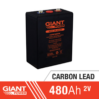 480AH 2V Carbon Lead Battery
