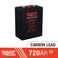 720AH 2V Carbon Lead Battery