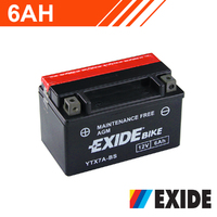 Exide Motorcycle Battery 12v 6AH [12m warranty]