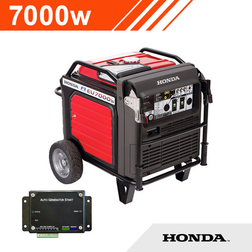 HONDA 7000W 2 Wire Auto Start Generator (Inverter)
