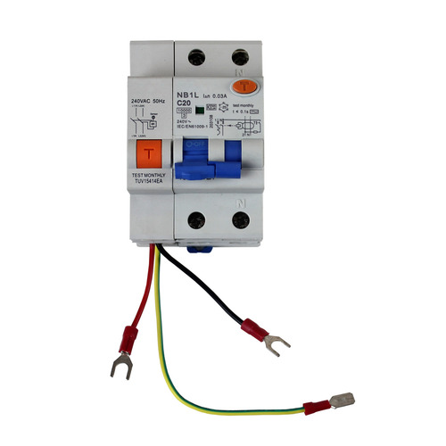 Mobile Safety Switch RCD for Caravan/Motorhome