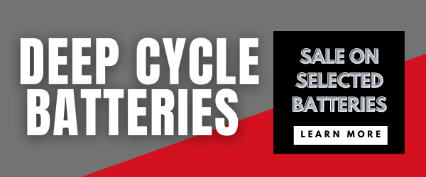 EOFY AGM DEEP CYCLE BATTERY & LITHIUM BATTERY SALE - BEST PRICE AGM DEEP CYCLE BATTERY SALE  - 130AH ECLIPSE DEEP CYCLE  or our BESTSELLING GIANT POWER 140AH with AUSTRALIA WIDE DELIVERY   + See our LITHIUM DEEP CYCLE BATTERY  options!