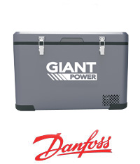 Giant Power 50L Portable Fridge Freezer