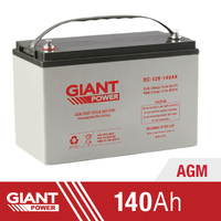 Giant Power 140AH 12V AGM Deep Cycle Battery