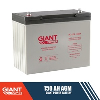 Giant Power 150AH 12V AGM Deep Cycle Battery