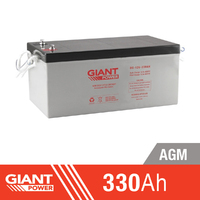 330AH 12V AGM Deep Cycle Battery