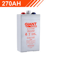 270AH 2V Tubular Gel Battery