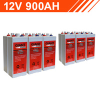 10.8kWh 12V 900AH Tubular Gel Battery Bank (2V cells)