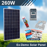 260W 12V Complete Custom DIY Solar Kit