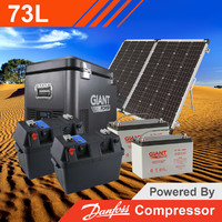 Giant Power 73L Complete Solar Fridge Kit