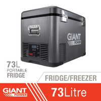 Giant Power 73L Portable Fridge/Freezer