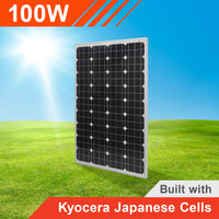 100W Solar Panel with Kyocera Japanese Cells