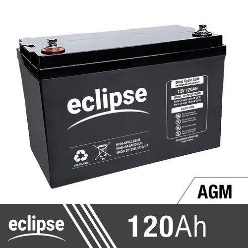 12 Volt 120Ah Deep Cycle AGM Battery