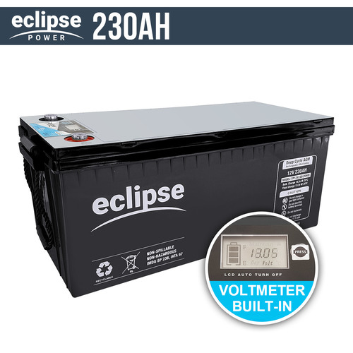 Eclipse 230AH 12V AGM Deep Cycle Battery