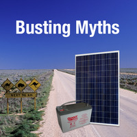 Common Solar and Battery Myths Busted